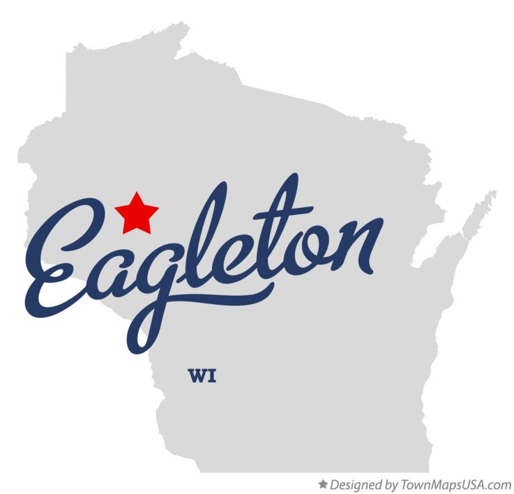 Map of Eagleton Wisconsin WI