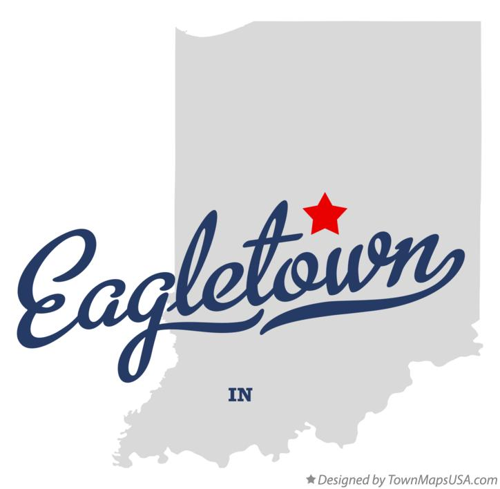 Map of Eagletown Indiana IN