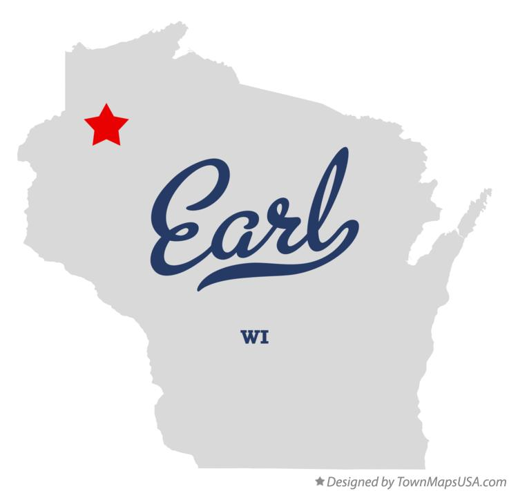Map of Earl Wisconsin WI