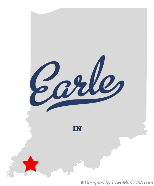 Map of Earle Indiana IN