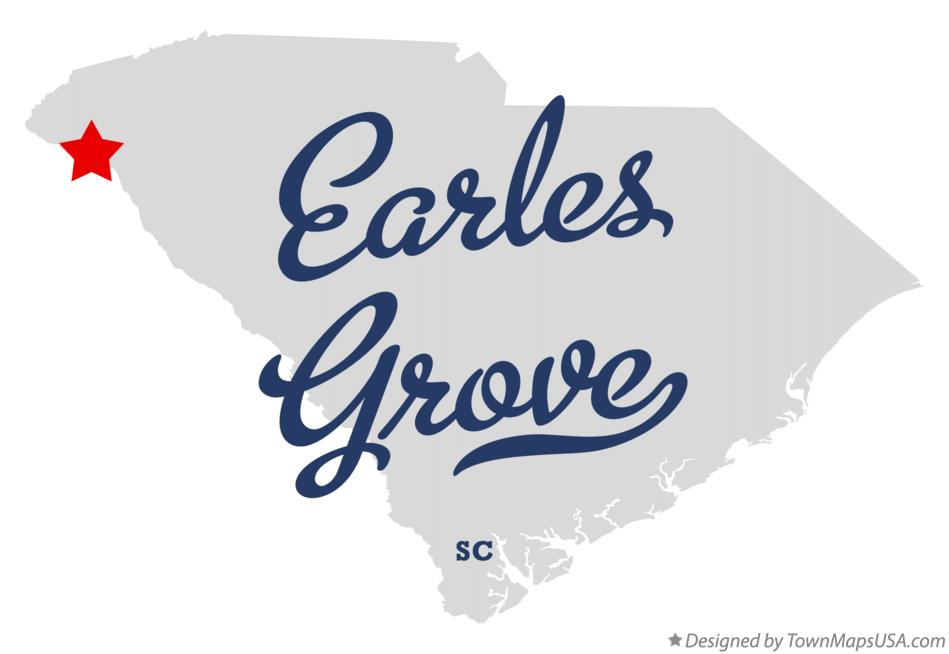 Map of Earles Grove South Carolina SC
