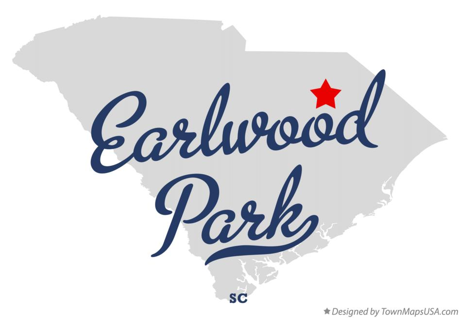 Map of Earlwood Park South Carolina SC