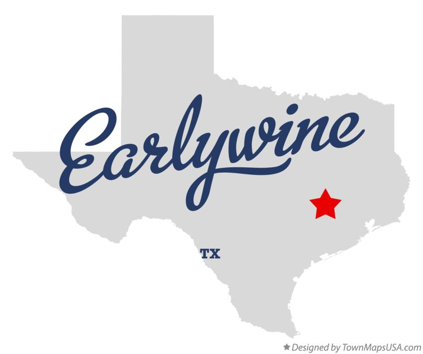 Map of Earlywine Texas TX