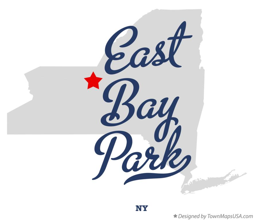 Map of East Bay Park New York NY
