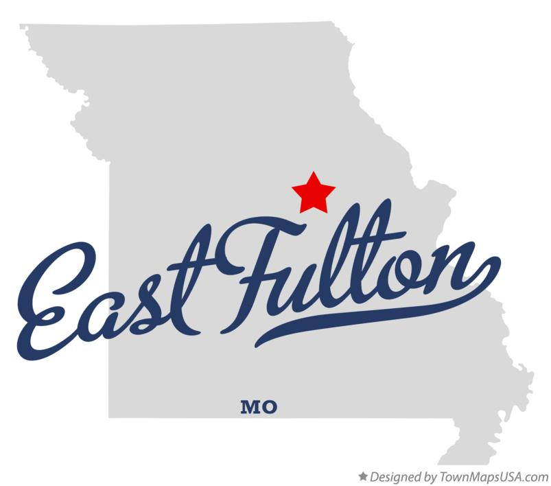Map of East Fulton Missouri MO
