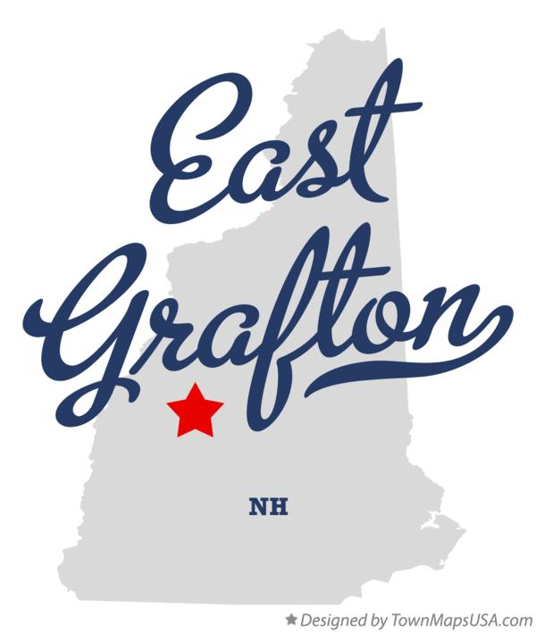Map of East Grafton New Hampshire NH