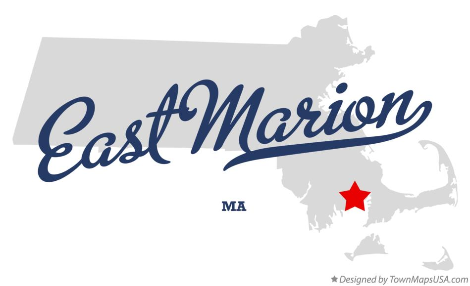 Map of East Marion Massachusetts MA