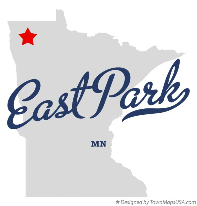 Map of East Park Minnesota MN