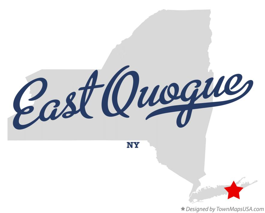 Map Of Quogue New York.Map Of East Quogue Ny New York