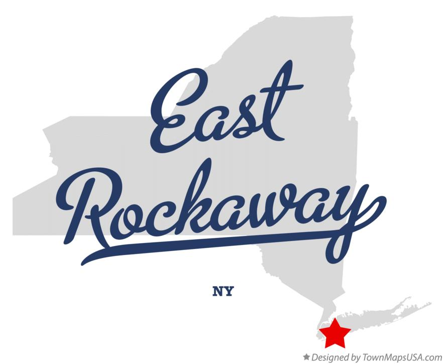Map of East Rockaway New York NY