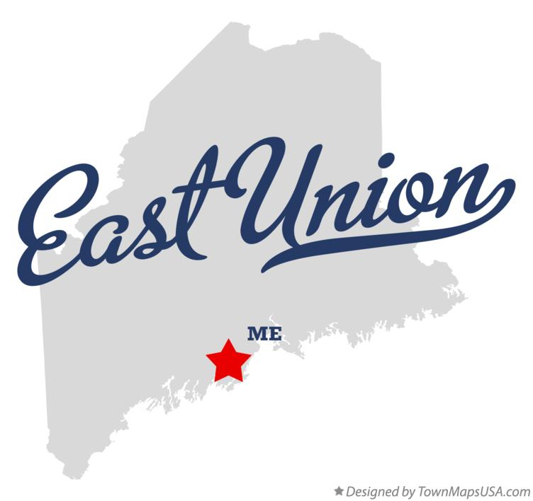 Map of East Union Maine ME