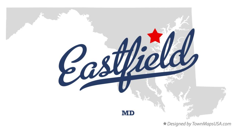 Map of Eastfield Maryland MD