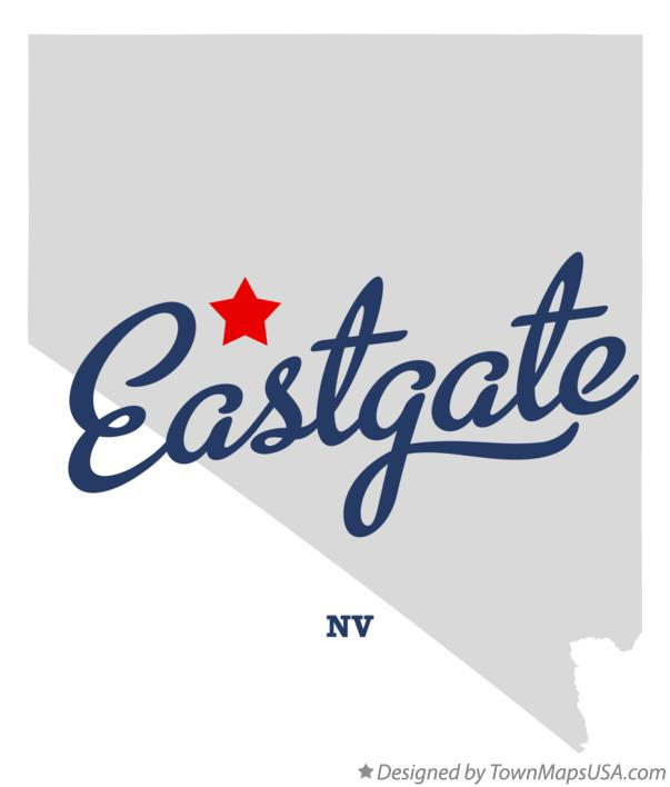 Map of Eastgate Nevada NV