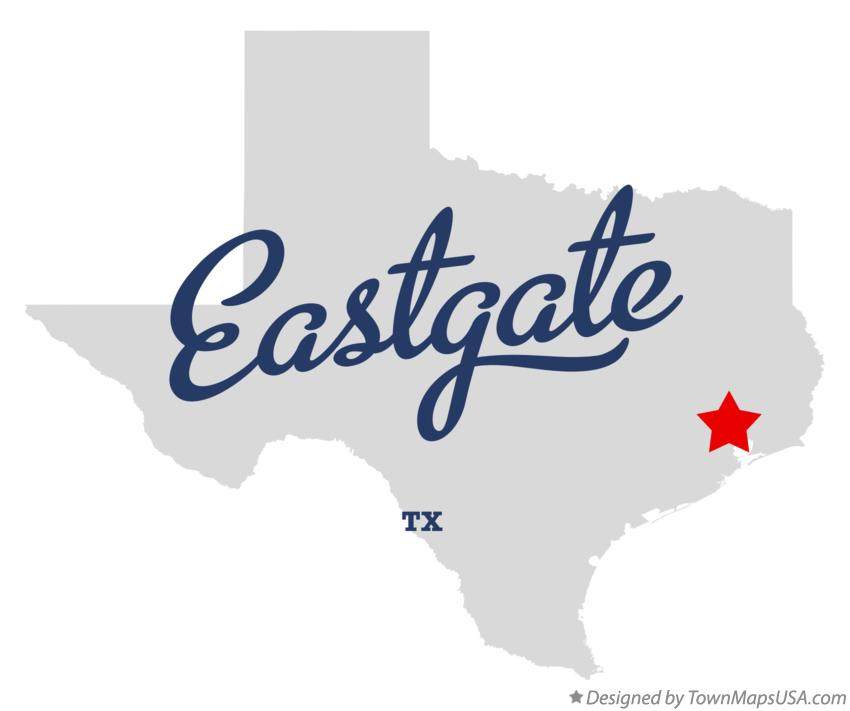 Map of Eastgate Texas TX