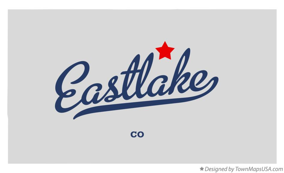 Map of Eastlake Colorado CO