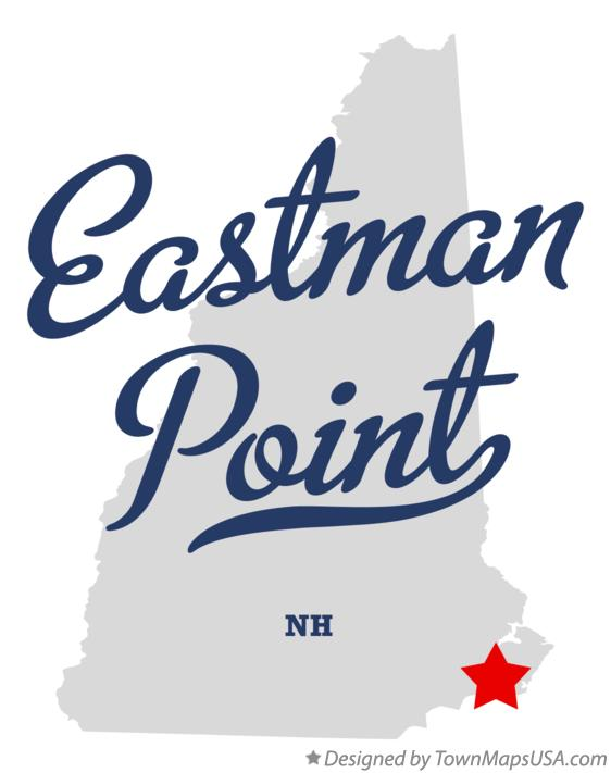 Map of Eastman Point New Hampshire NH