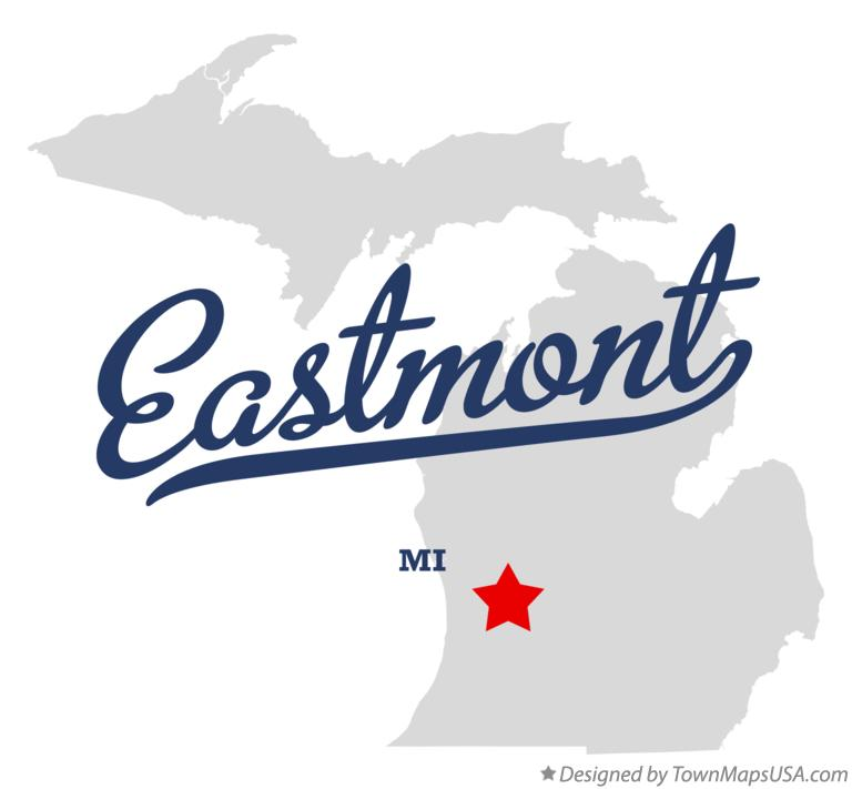 Map of Eastmont Michigan MI