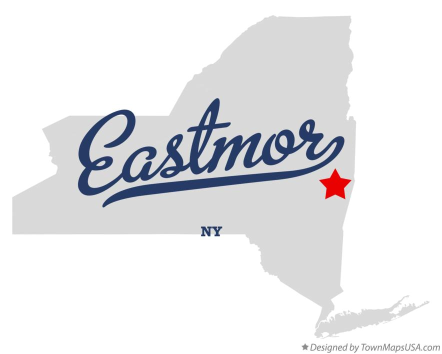 Map of Eastmor New York NY