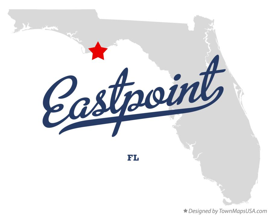 Map of Eastpoint Florida FL