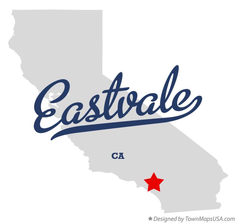 Map of Eastvale California CA