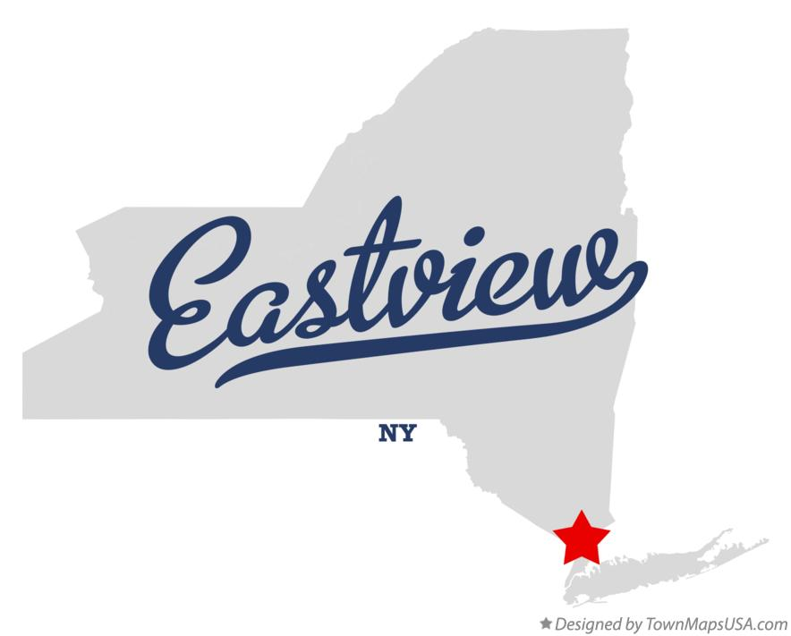 Map of Eastview New York NY