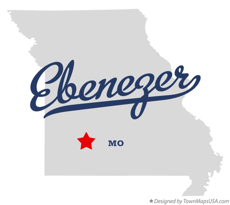 Map of Ebenezer Missouri MO