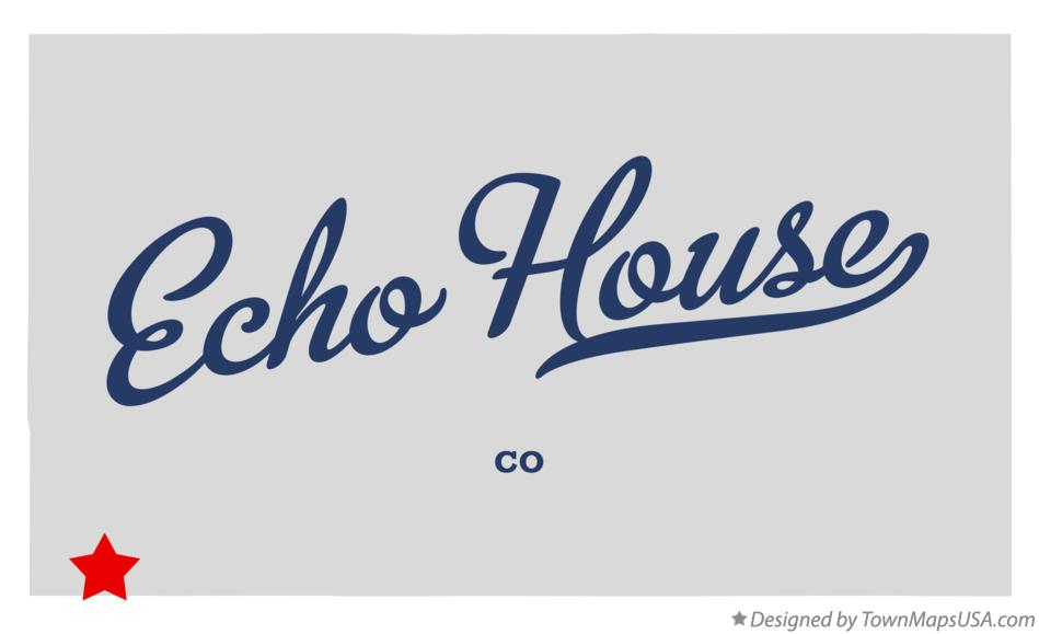 Map of Echo House Colorado CO