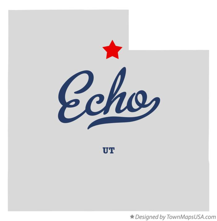 Map of Echo Utah UT