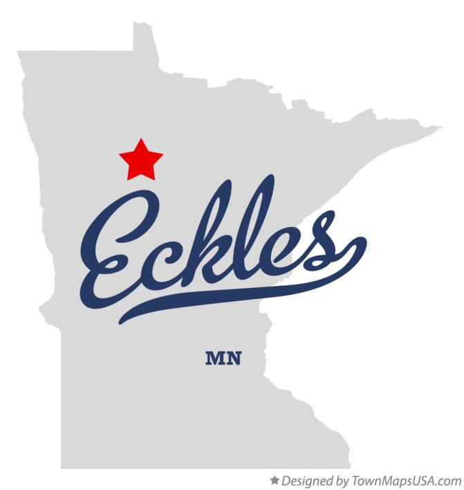 Map of Eckles Minnesota MN