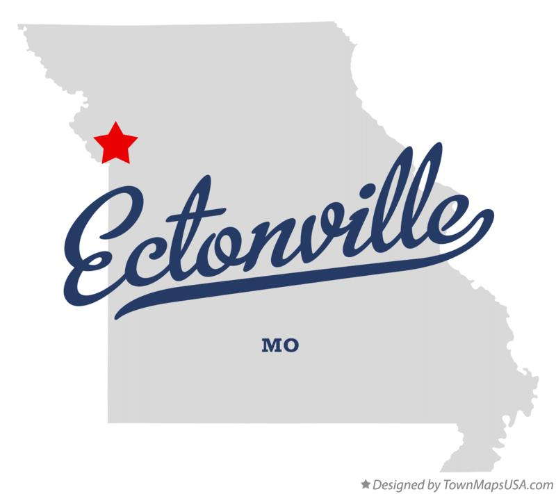 Map of Ectonville Missouri MO