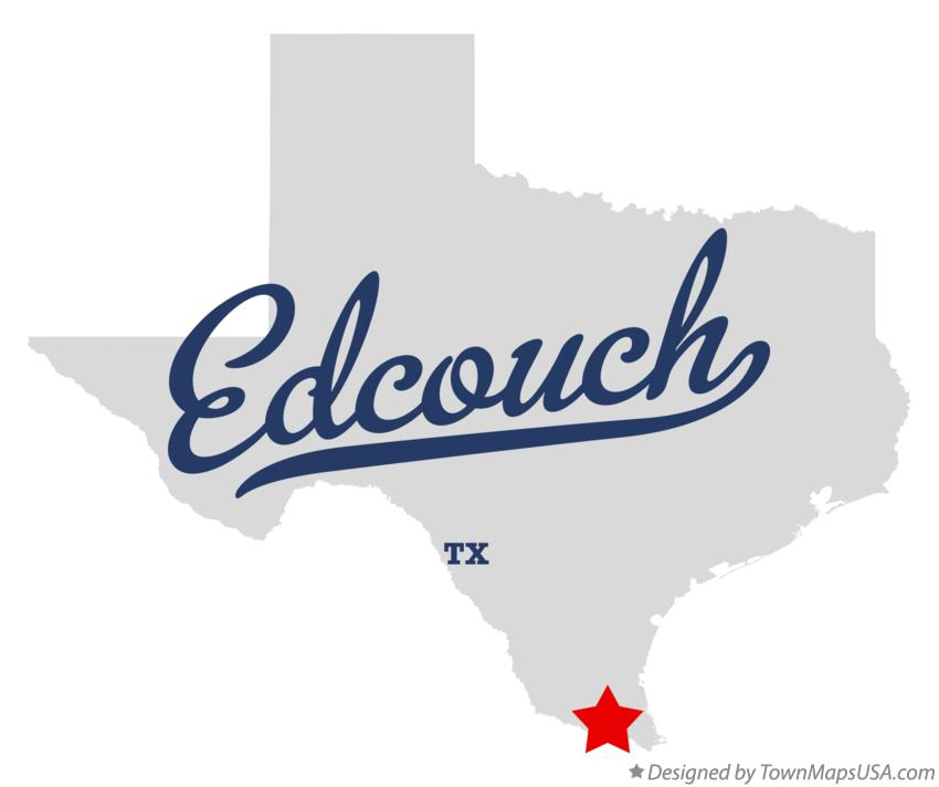 Map of Edcouch Texas TX
