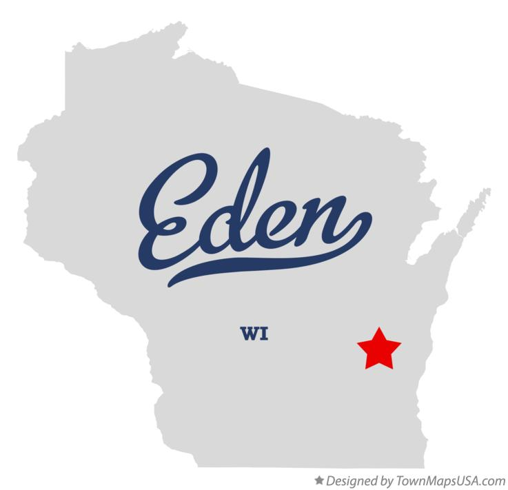 Map of Eden Wisconsin WI