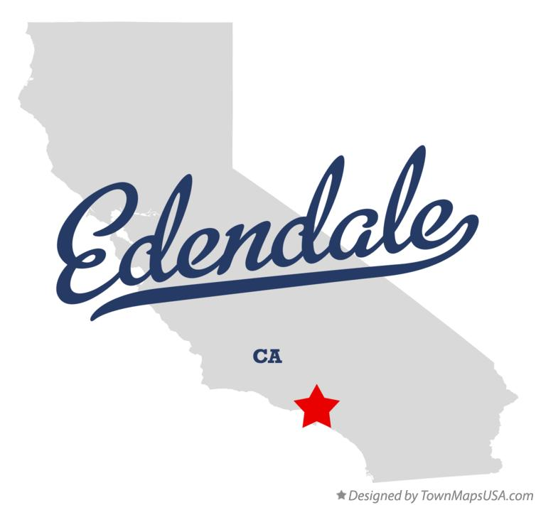 Map of Edendale California CA