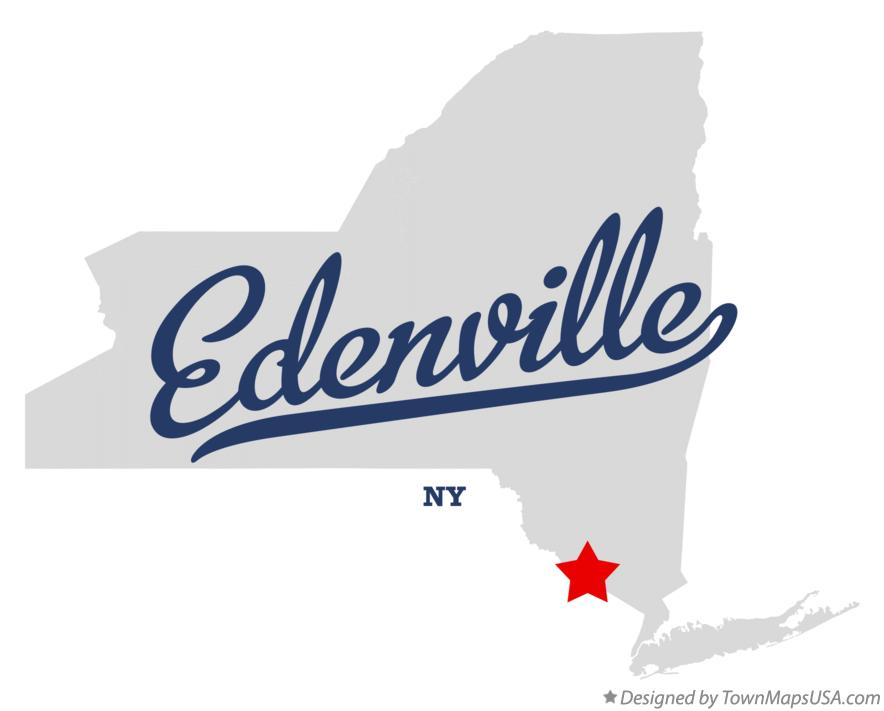Map of Edenville New York NY