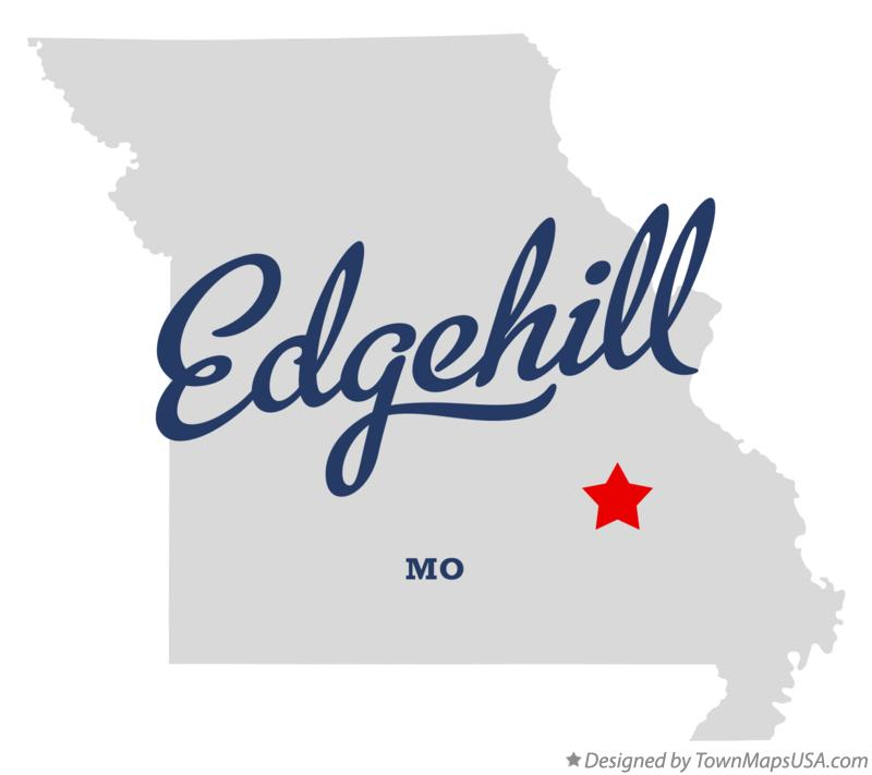 Map of Edgehill Missouri MO