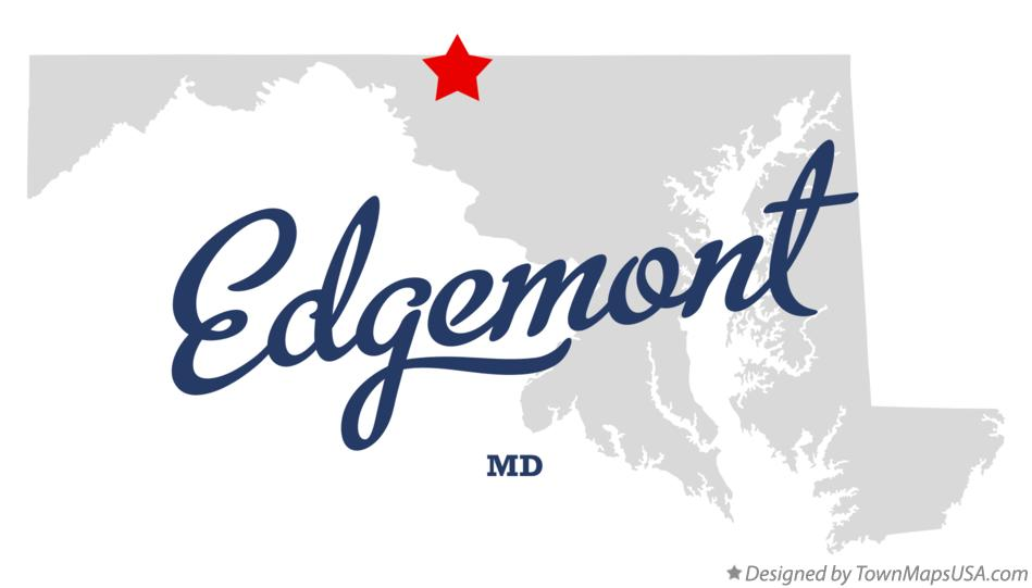 Map of Edgemont Maryland MD