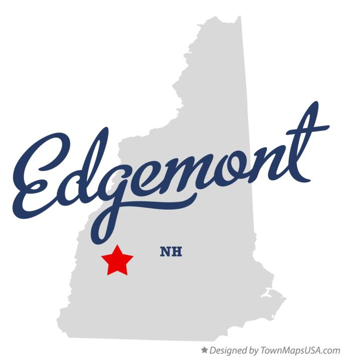 Map of Edgemont New Hampshire NH