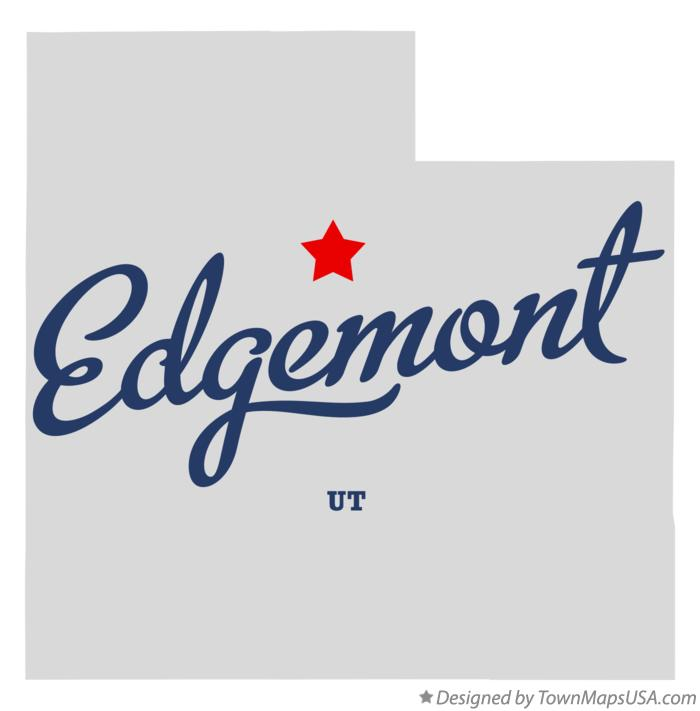 Map of Edgemont Utah UT