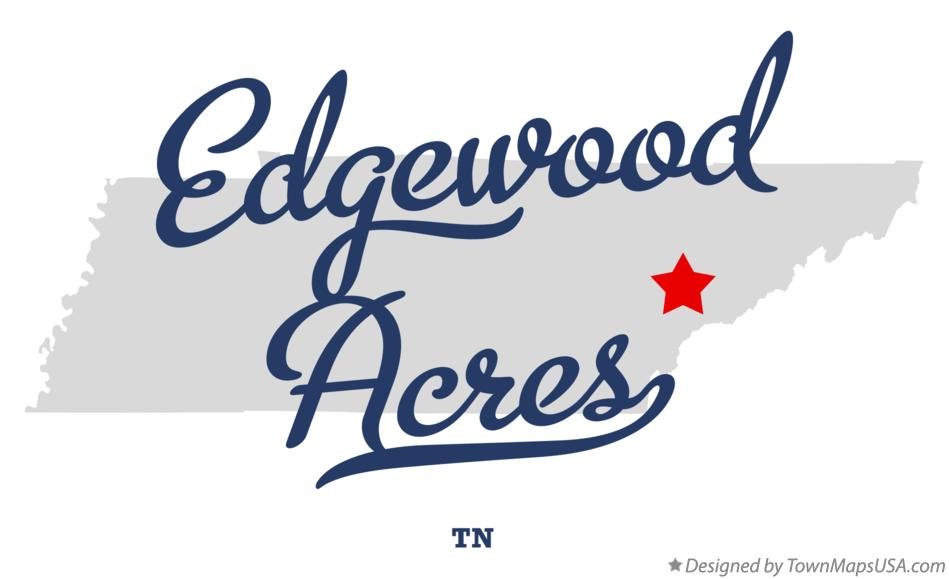 Map of Edgewood Acres Tennessee TN
