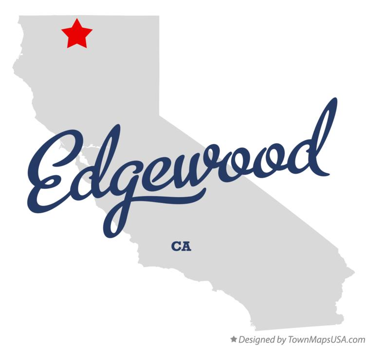 Map of Edgewood California CA