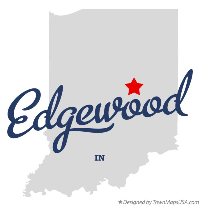 Map of Edgewood Indiana IN