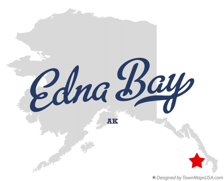 Map of Edna Bay Alaska AK