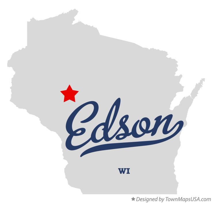 Map of Edson Wisconsin WI