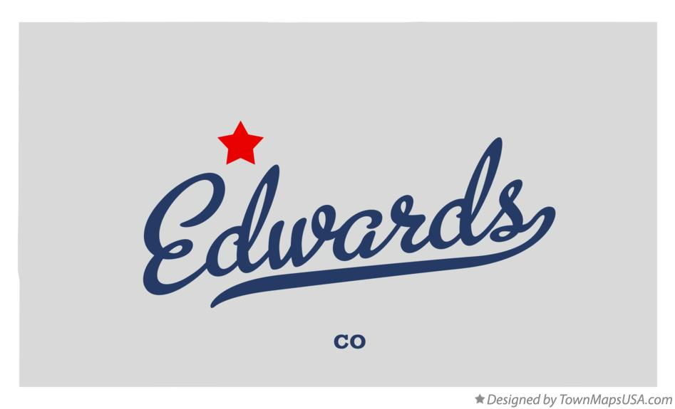 Map of Edwards Colorado CO