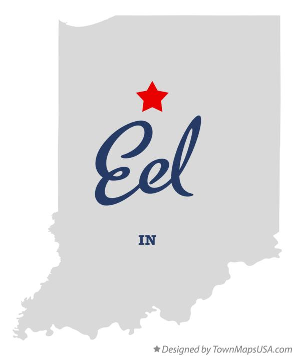 Map of Eel Indiana IN