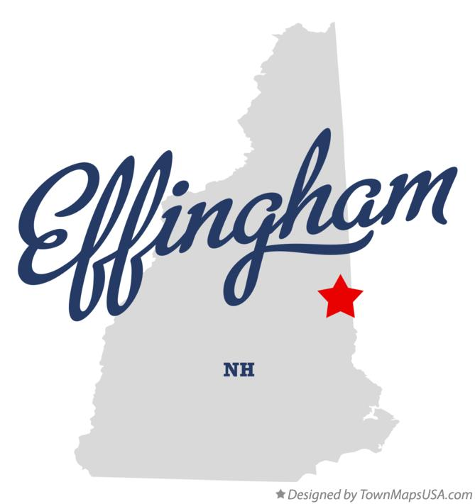 Map of Effingham New Hampshire NH
