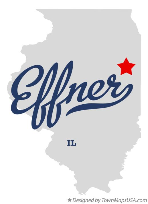 Map of Effner Illinois IL