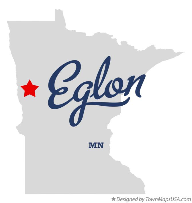 Map of Eglon Minnesota MN