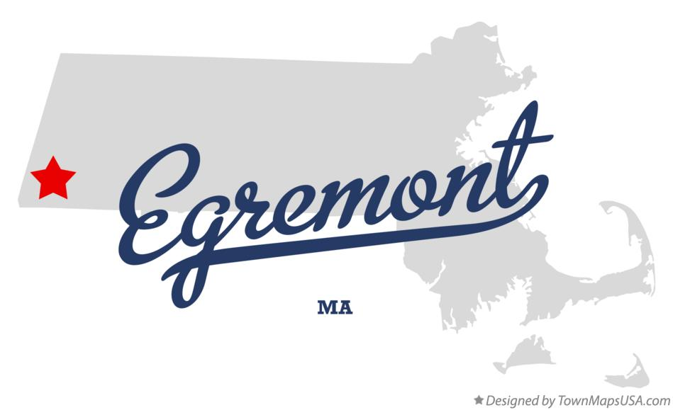 Map of Egremont Massachusetts MA