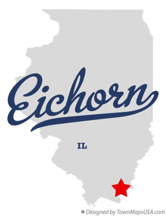 Map of Eichorn Illinois IL